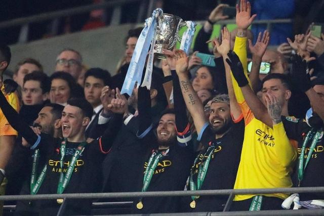 Đánh bại Aston Villa, Man City vô địch Carabao Cup - 1