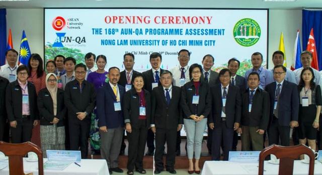 Trường ĐH Nông lâm TPHCM thêm 4 chương trình đào tạo đạt chuẩn AUN-QA - 1