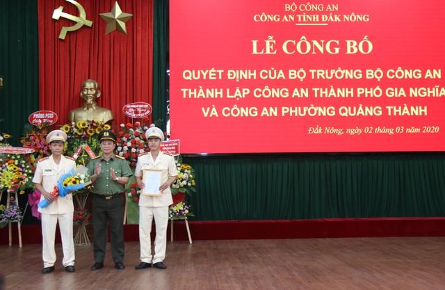 Thành lập Công an TP Gia Nghĩa thuộc Công an tỉnh Đắk Nông - 1