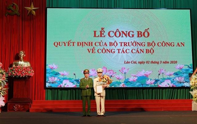Lào Cai có tân Giám đốc Công an tỉnh - 1