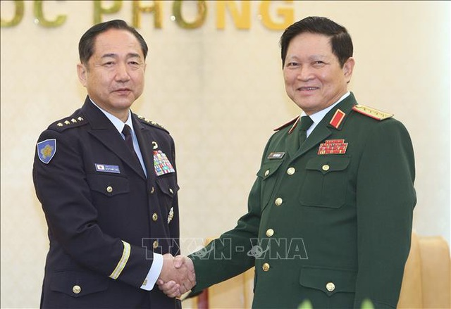 Tham mưu trưởng Liên quân Nhật Bản thăm chính thức Việt Nam - 1