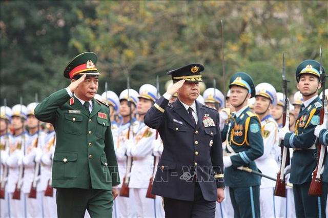 Tham mưu trưởng Liên quân Nhật Bản thăm chính thức Việt Nam - 3