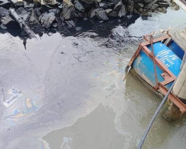 Truy tìm thủ phạm gây ra vết dầu loang trên sông Lam - 3