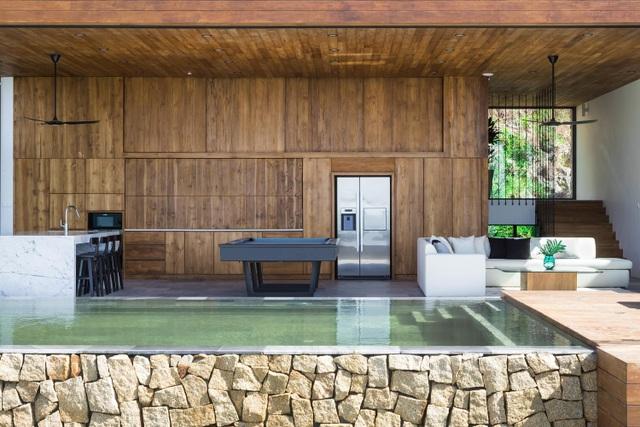 Chiêm ngưỡng biệt thự hộp gỗ, có tầm nhìn ra biển tuyệt đẹp ở Nha Trang - 4