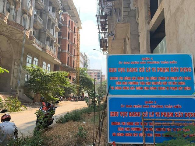 TPHCM chỉ đạo cưỡng chế 17 công trình sai phạm tại phố nhà giàu - 1