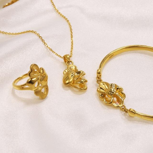 Ưu đãi hấp dẫn từ trang sức vàng 24K của DOJI - 1