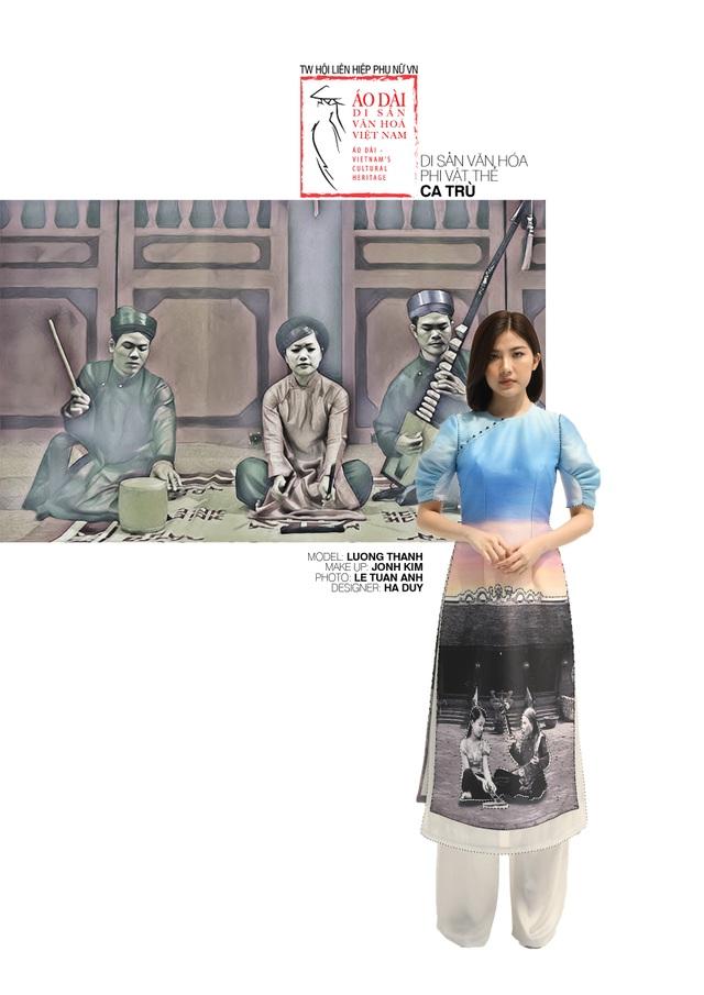 Dời ngày trình diễn Áo dài - di sản văn hoá Việt Nam vì Covid-19 - 29
