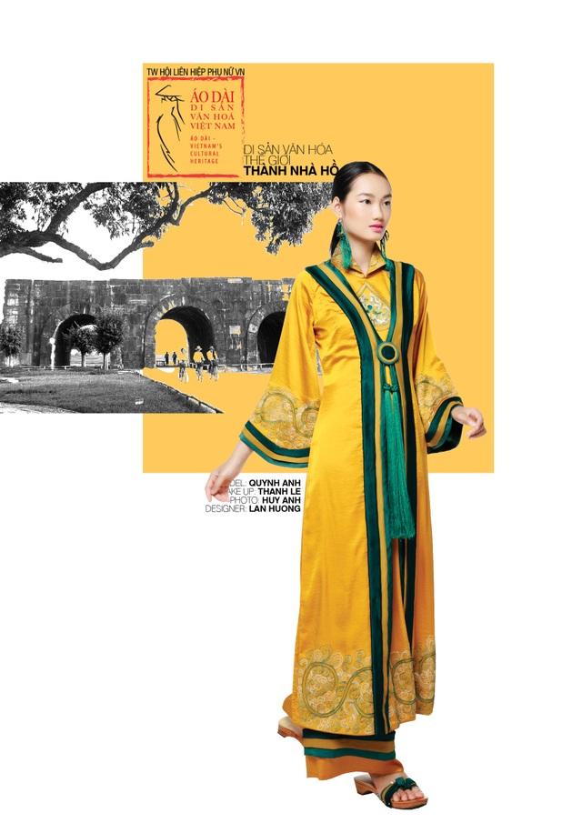 Dời ngày trình diễn Áo dài - di sản văn hoá Việt Nam vì Covid-19 - 8