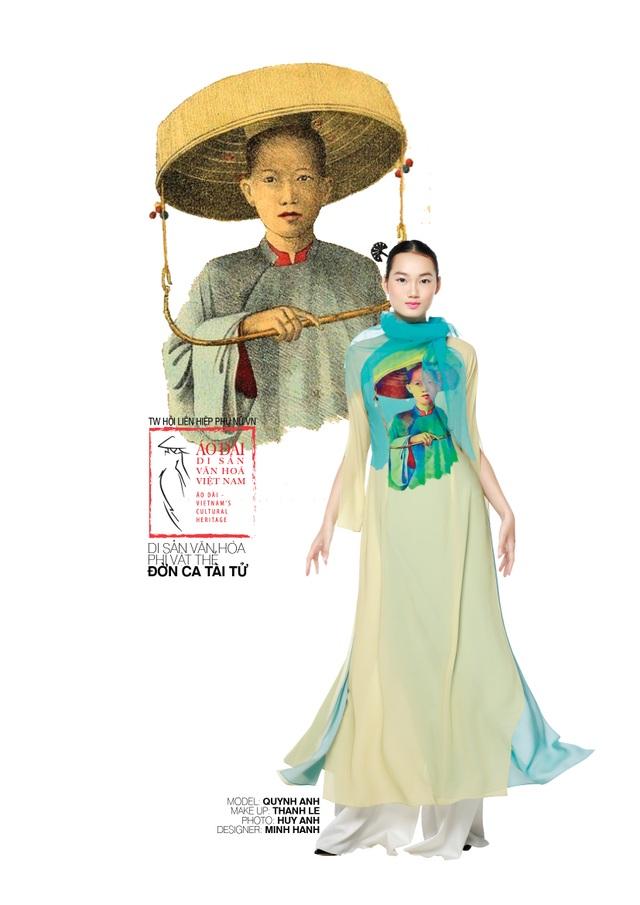 Dời ngày trình diễn Áo dài - di sản văn hoá Việt Nam vì Covid-19 - 4