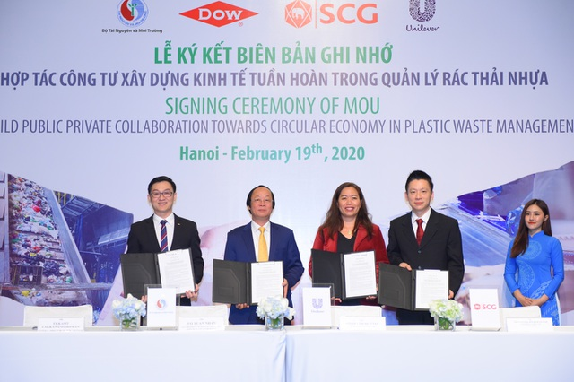 Mô hình kinh tế tuần hoàn - giải pháp cho tình trạng rác thải nhựa tại Việt Nam - 1