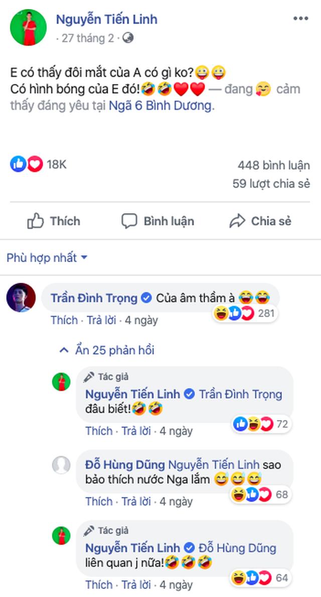 Tiền đạo Tiến Linh và diễn viên Huỳnh Hồng Loan xác nhận hẹn hò - 2