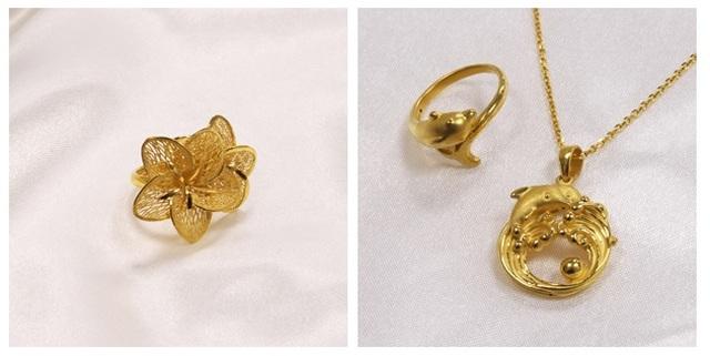 Ưu đãi hấp dẫn từ trang sức vàng 24K của DOJI - 2