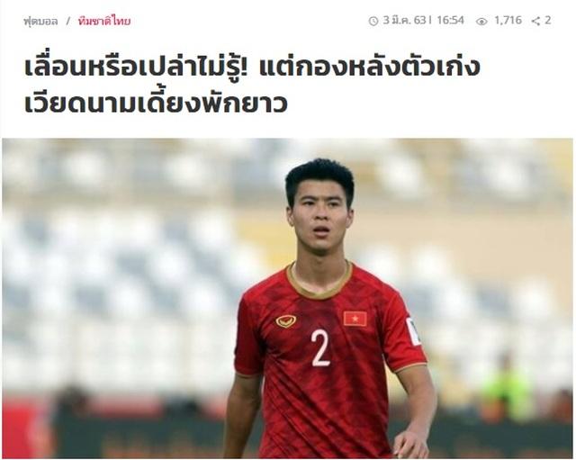 Báo Thái Lan hả hê trước nỗi đau của đội tuyển Việt Nam - 1