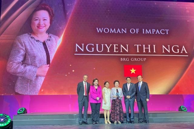 Chủ tịch Tập đoàn BRG Nguyễn Thị Nga được vinh danh nữ doanh nhân có tầm ảnh hưởng lớn khu vực ASEAN - 1