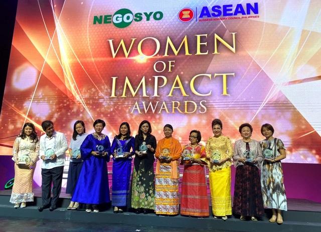 Chủ tịch Tập đoàn BRG Nguyễn Thị Nga được vinh danh nữ doanh nhân có tầm ảnh hưởng lớn khu vực ASEAN - 2
