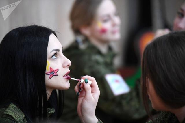 """Vẻ đẹp của những """"bông hồng thép"""" trong lực lượng tên lửa chiến lược Nga"""