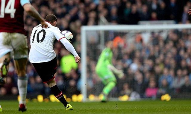 10 khoảnh khắc đáng nhớ của Rooney trong màu áo Man Utd - 8