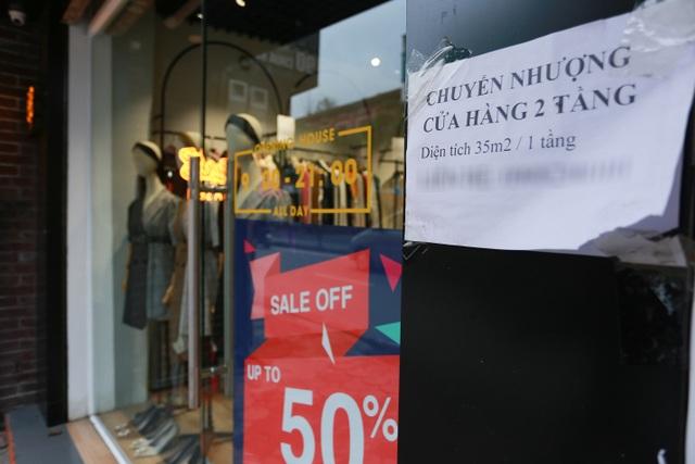Kinh doanh ế ẩm, hàng loạt cửa hàng ở Hà Nội đóng cửa trả mặt bằng - 6