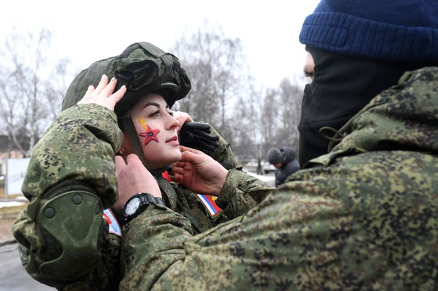 """Vẻ đẹp của những """"bông hồng thép"""" trong lực lượng tên lửa chiến lược Nga - Ảnh minh hoạ 4"""