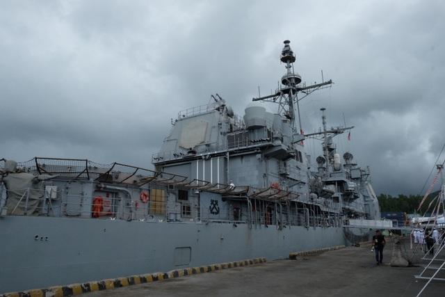 Nhóm tàu sân bay Mỹ bắt đầu chuyến thăm hữu nghị Đà Nẵng - 2