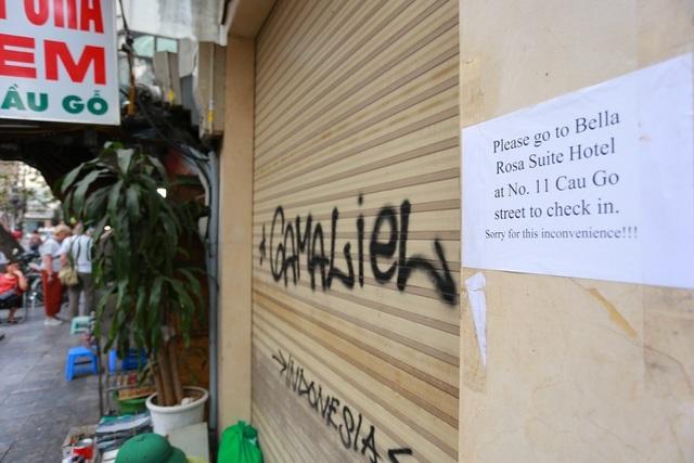 Kinh doanh ế ẩm, hàng loạt cửa hàng ở Hà Nội đóng cửa trả mặt bằng - 11