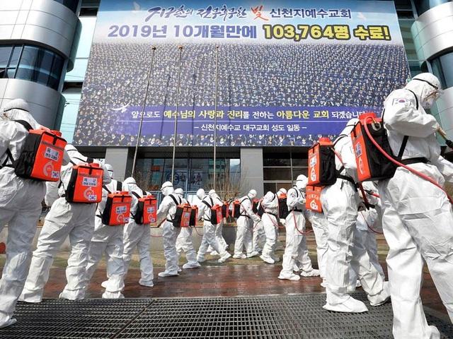 Số ca nhiễm Covid-19 tại Hàn Quốc vượt 6.000 người - 1
