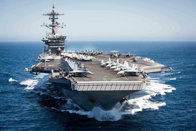 """Tàu sân bay USS Theodore Roosevelt - """"thành phố nổi"""" của Hải quân Mỹ - 1"""