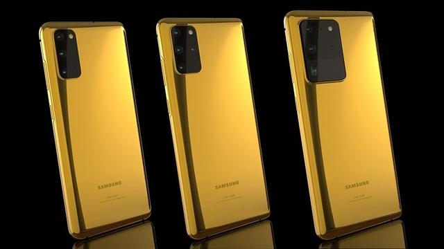 Ngắm phiên bản Galaxy S20 mạ vàng siêu sang, giá gần 5.000 USD - 1