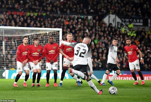 Derby County 0-3 Man Utd: Ighalo tỏa sáng với cú đúp - 3