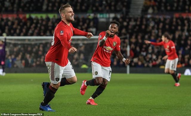 Derby County 0-3 Man Utd: Ighalo tỏa sáng với cú đúp - 2