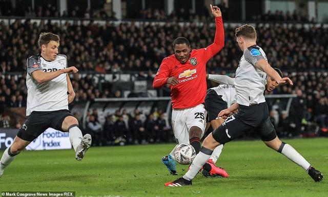 Derby County 0-3 Man Utd: Ighalo tỏa sáng với cú đúp - 5