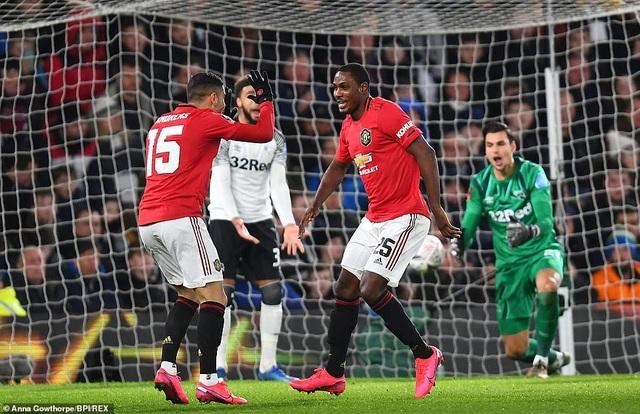 Derby County 0-3 Man Utd: Ighalo tỏa sáng với cú đúp - 1