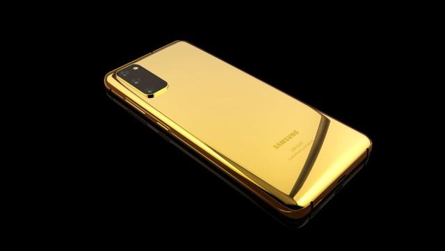 Ngắm phiên bản Galaxy S20 mạ vàng siêu sang, giá gần 5.000 USD - 2