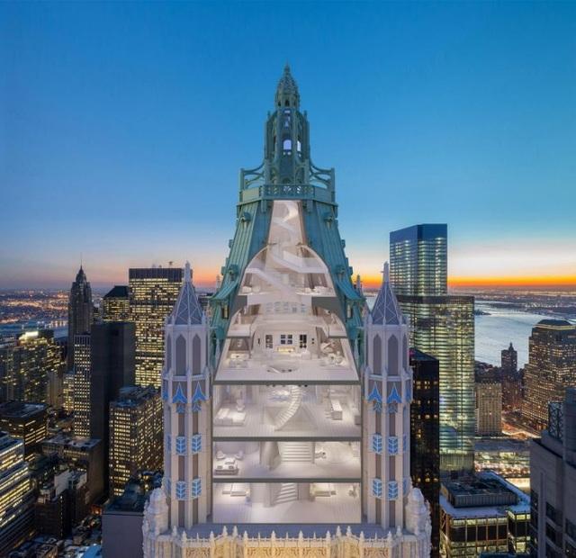 Bên trong căn hộ Penthouse trên đỉnh tòa nhà nổi tiếng nhất New York - 1
