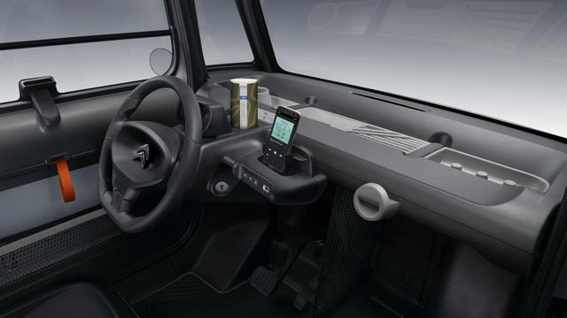 Citroen Ami - Cuộc hôn phối giữa ô tô với xe tay ga - 3