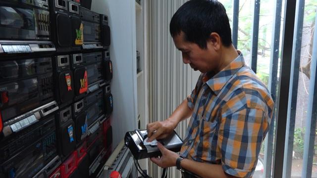 Bộ sưu tập 1000 chiếc đài radio cassette cổ gần 1 tỷ đồng tại Hà Nội - 5