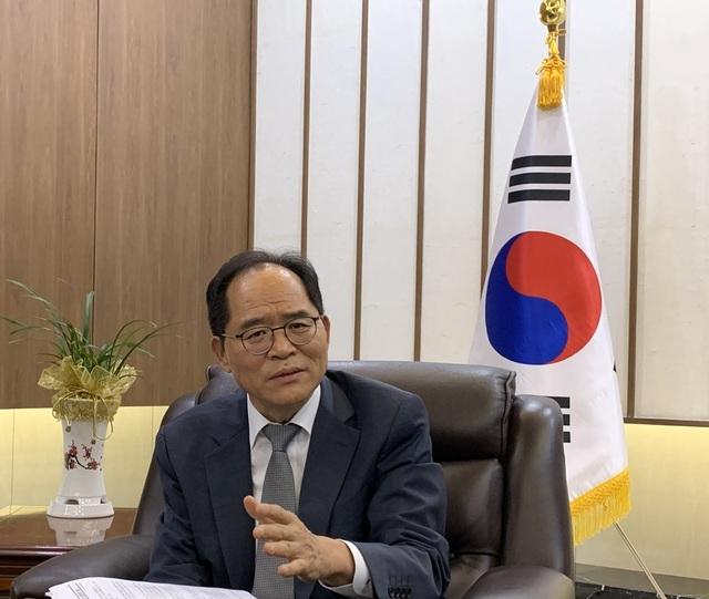 """Đại sứ Hàn Quốc thông tin về 3 nhóm """"phản ứng nhanh"""" được điều tới Việt Nam - 1"""