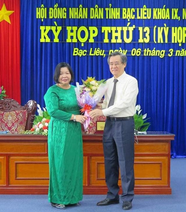 Bạc Liêu có Phó Chủ tịch HĐND tỉnh mới - 1