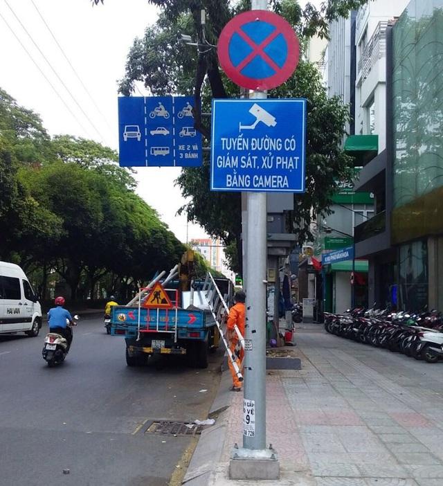Mắt thần ghi hình xe vi phạm trên 14 tuyến đường trung tâm Sài Gòn - 1