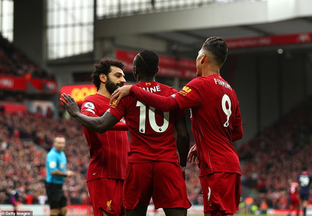 Mane, Salah giúp Liverpool lập kỷ lục trên sân nhà Anfield - 1