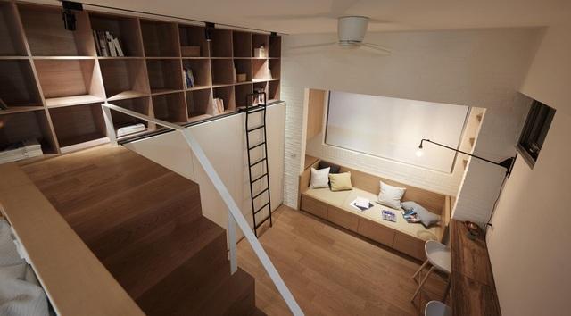 Tuyệt chiêu thiết kế cho ngôi nhà 25m2 vẫn rộng rãi, đầy đủ tiện nghi - 8