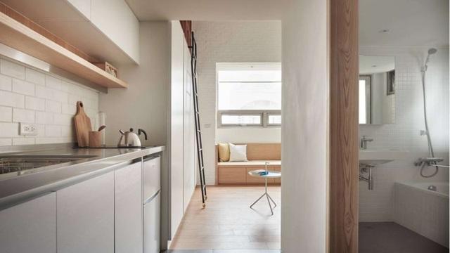 Tuyệt chiêu thiết kế cho ngôi nhà 25m2 vẫn rộng rãi, đầy đủ tiện nghi - 9