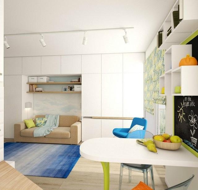 Tuyệt chiêu thiết kế cho ngôi nhà 25m2 vẫn rộng rãi, đầy đủ tiện nghi - 12