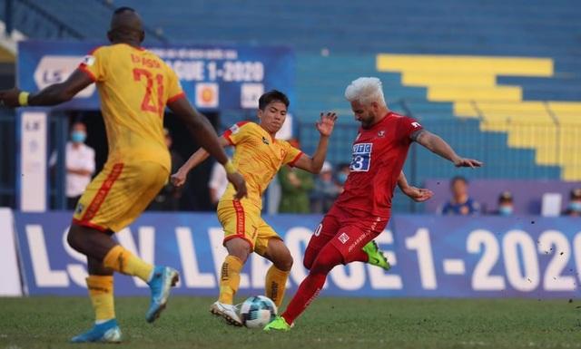 CLB Thanh Hóa trắng tay sân nhà ở trận ra quân V-League - 1