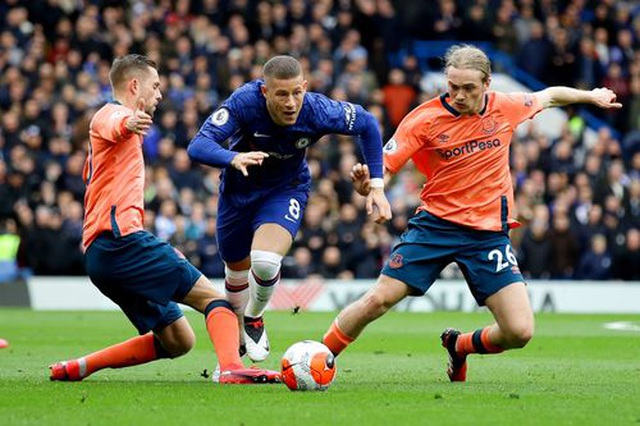 Chelsea 4-0  Everton: Cú sốc lớn với  Ancelotti - 4
