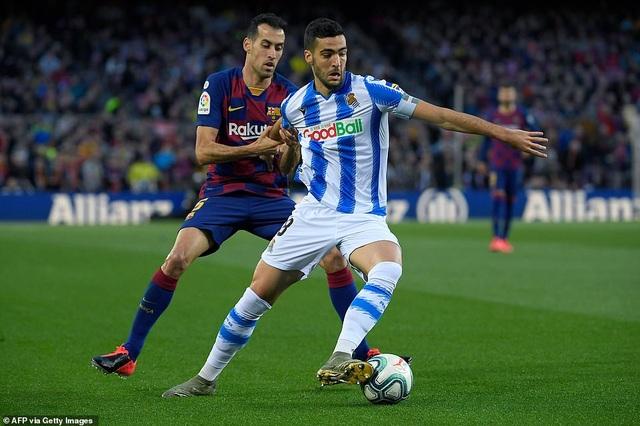 Messi ghi bàn, Barcelona hạ Sociedad và tạm chiếm ngôi đầu bảng - 7