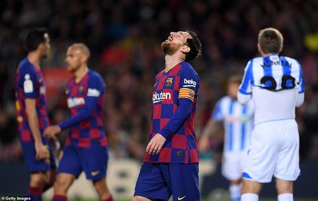 Messi ghi bàn, Barcelona hạ Sociedad và tạm chiếm ngôi đầu bảng - 8