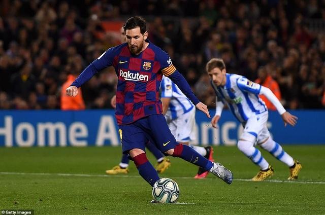 Messi ghi bàn, Barcelona hạ Sociedad và tạm chiếm ngôi đầu bảng - 10