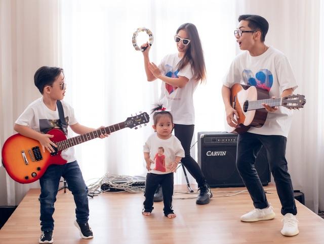 Khoảnh khắc ấm lòng của gia đình Khánh Thi giữa dịch Covid-19 - 6