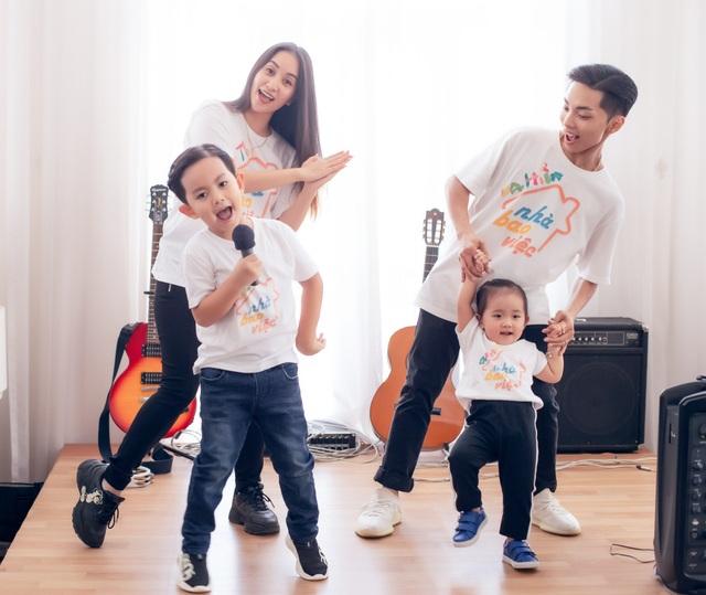 Khoảnh khắc ấm lòng của gia đình Khánh Thi giữa dịch Covid-19 - 9